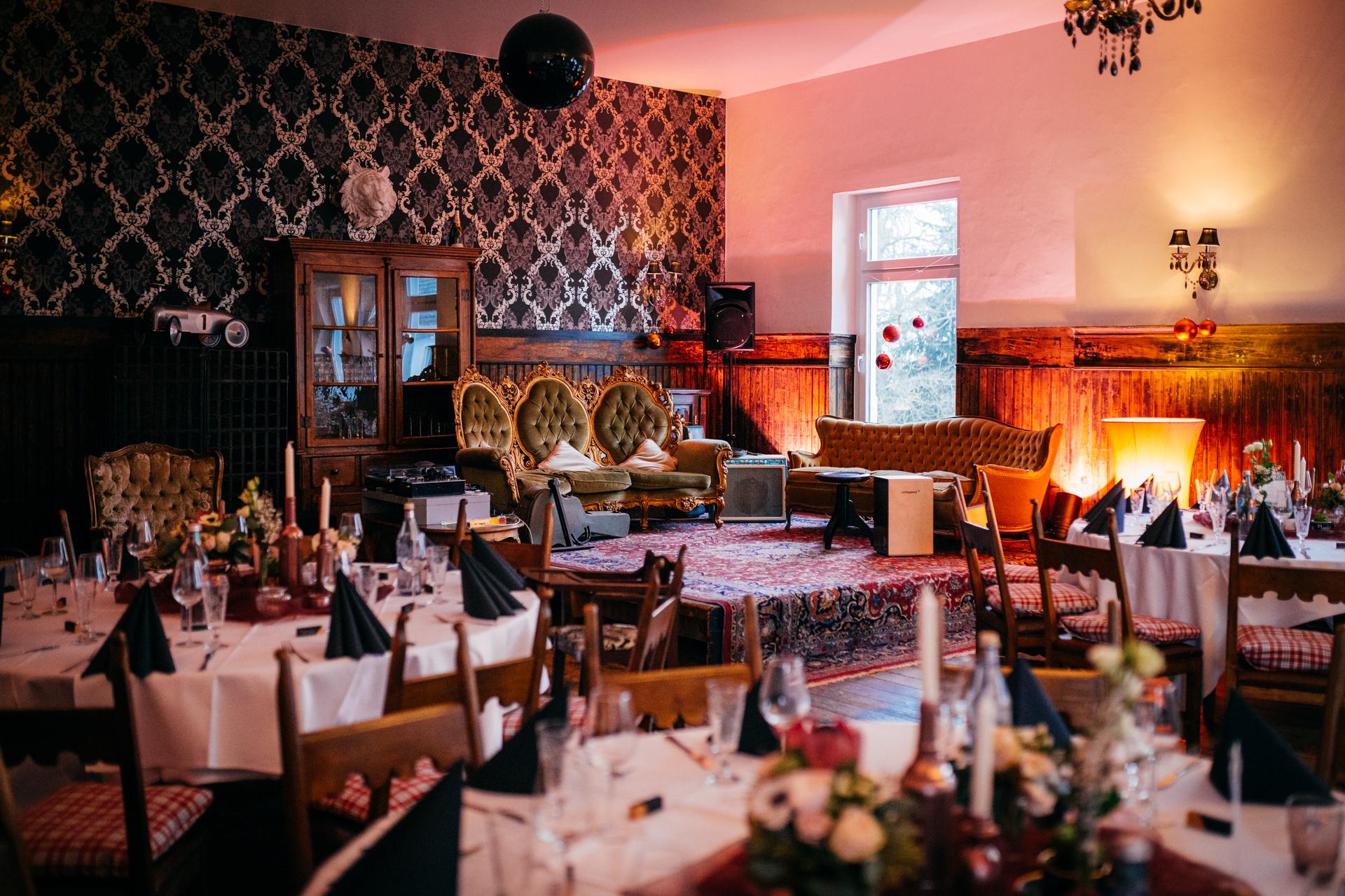 Wintertrauung mit Traulina Restaurant Kaufmanns in Gelnhausen