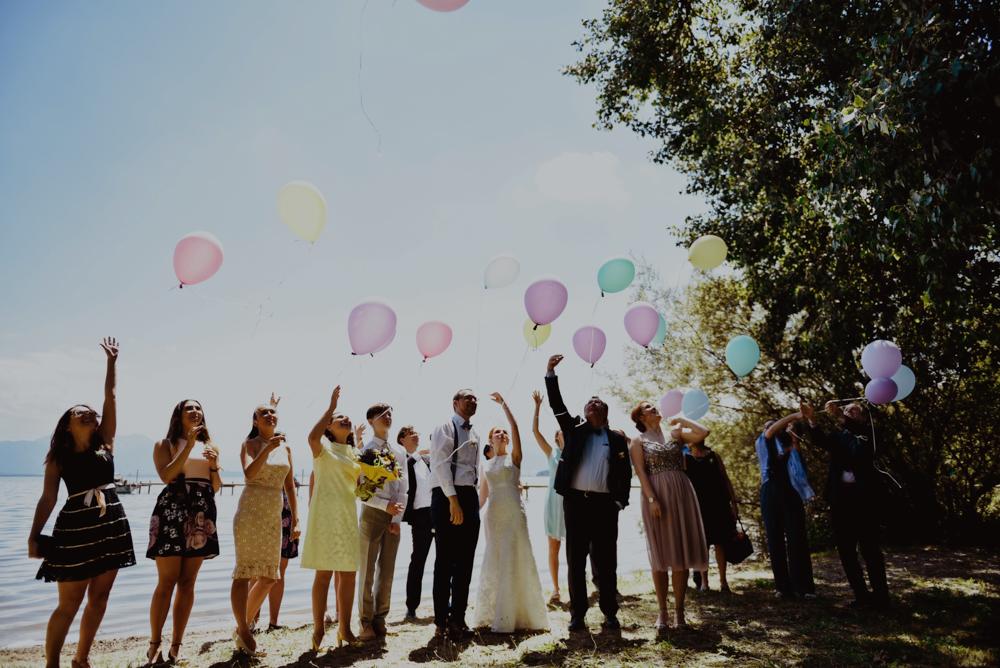 Luftballons freie Trauung