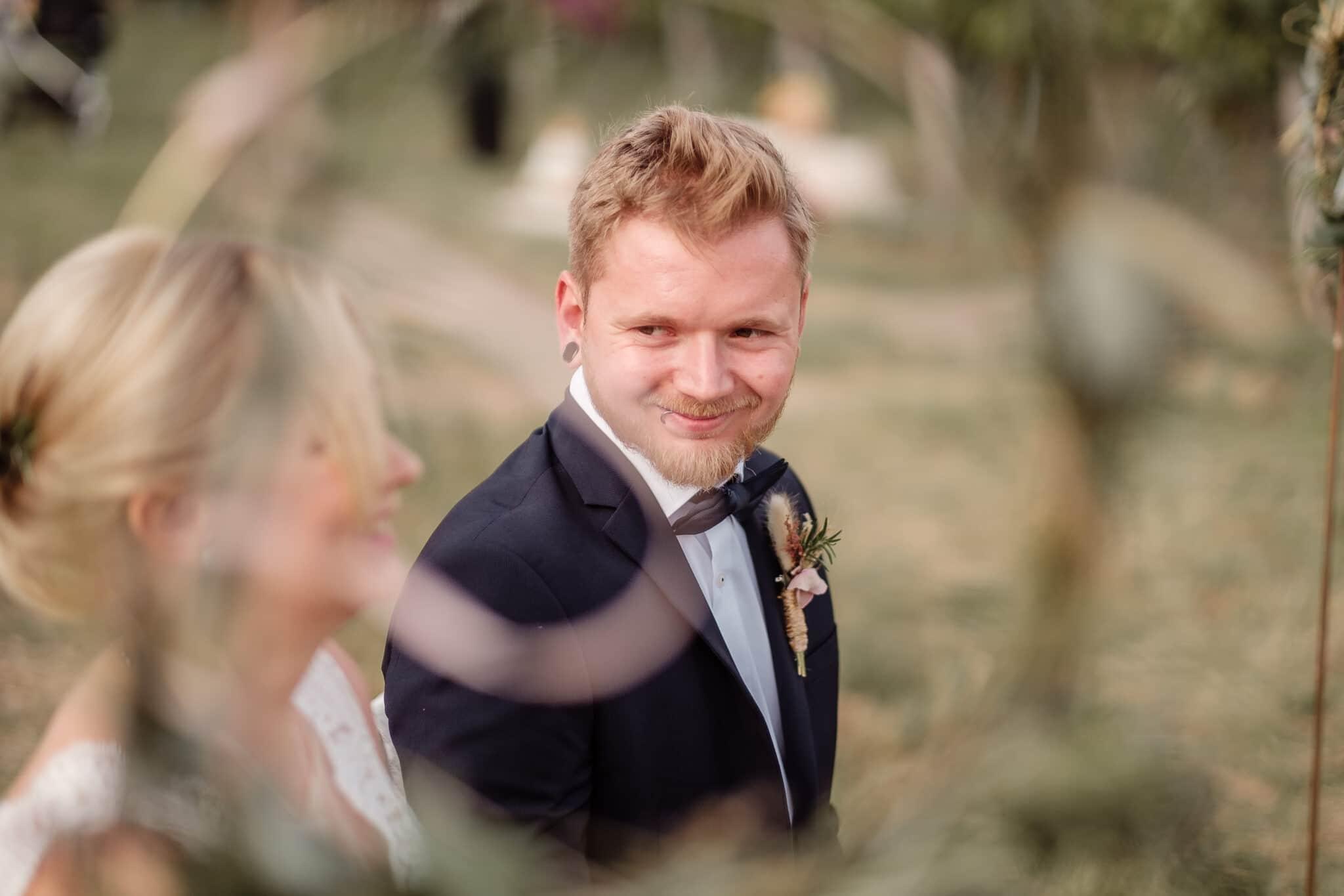 Brautpaar freie Trauung Weinberge