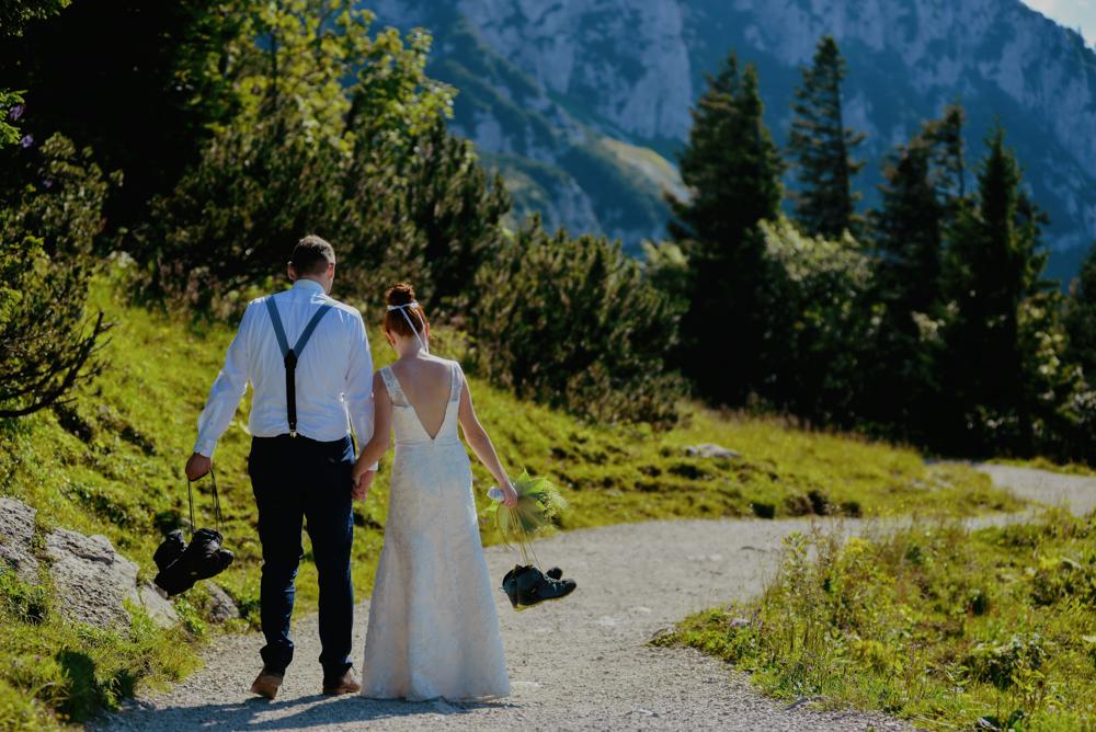 freie Trauung in den Bergen