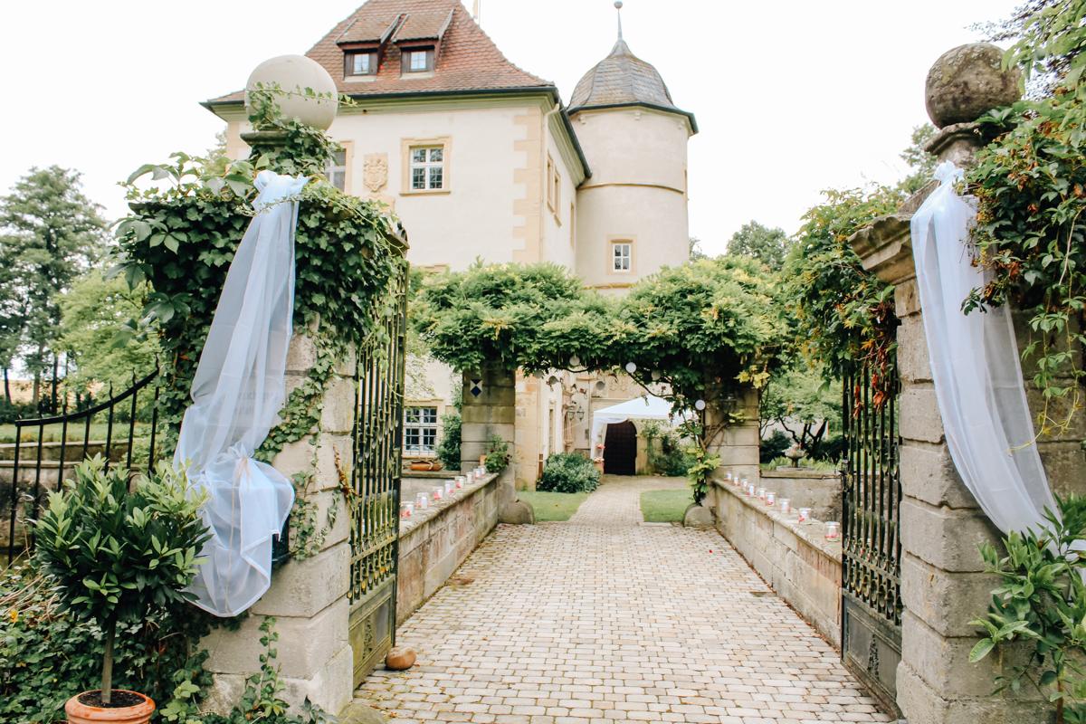 freie Trauung Wasserschloss Kleinbardorf
