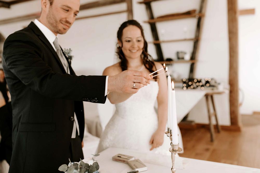 Alternative zur Hochzeitskerze