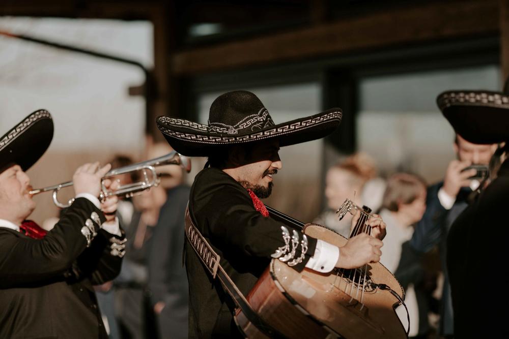 mexikanische Musik zur Hochzeit