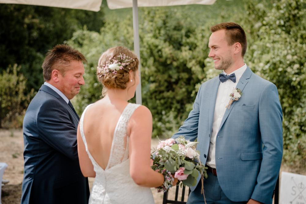 Einzug der Braut mit ihrem Vater